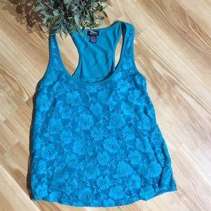 Woman's Lace Halter Top Size M